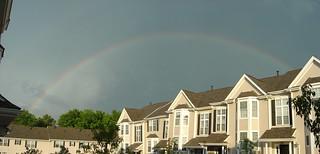 Rainbow over Arlington Woods