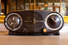 Vintage 'Zenith Deluxe' Radio by David Hilowitz