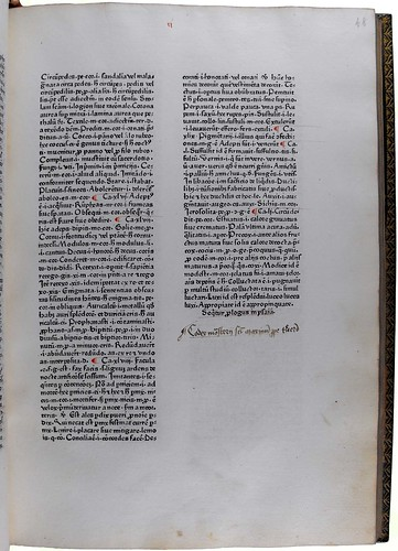 Ownership inscription in Marchesinus, Johannes: Mammotrectus super Bibliam