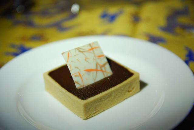 Mini chocolate, caramel, hazelnut tart | Flickr - Photo Sharing!