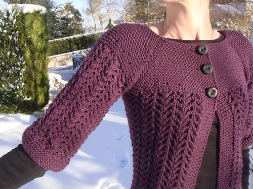 Tricoter en rond jersey point mousse comment faire knit spirit - Comment tricoter avec des aiguilles circulaires ...