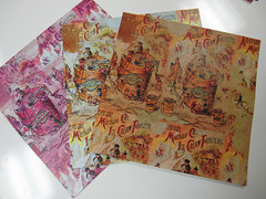 Ice Cream Steampunk Scrapbook Papers