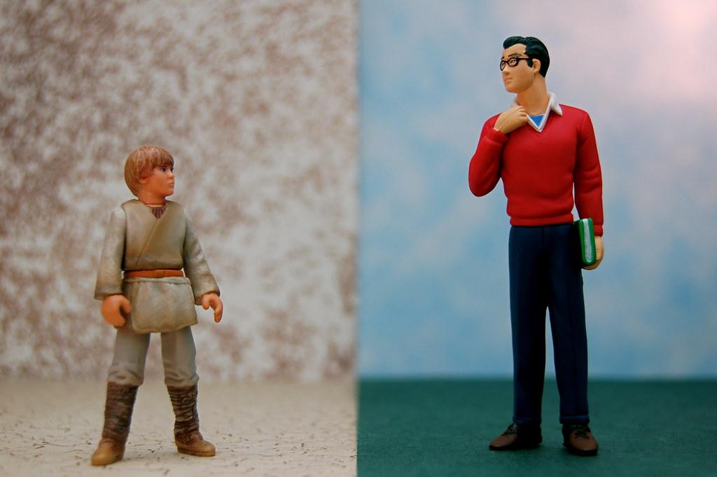 Anakin Skywalker vs. Clark Kent (340/365)