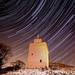 law castle star trail [explored 07/12/10] by iain-paton
