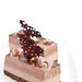 Chocolate and chestnut entremet