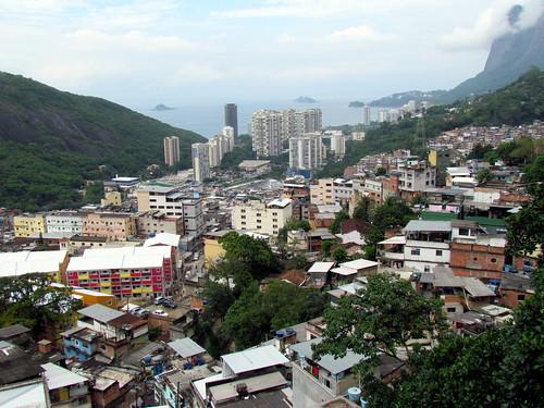 Riocinha Favela - Rio de Janeiro Brazil