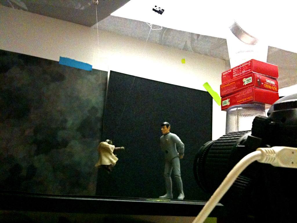 Yoda vs. Mr. Spock Setup