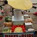Bhel Puri Stand Along the Ghats - Varanasi, India
