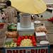 Bhel Puri Stand Along the Ghats - Varanasi, India