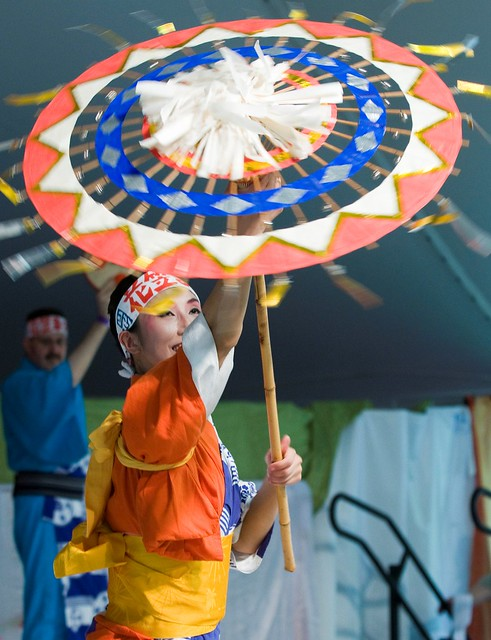 Japanese Folk Dance Institute of New York. Photo by Jason Gardner.