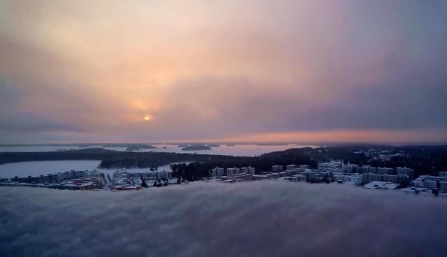 El día más corto del año en Helsinki