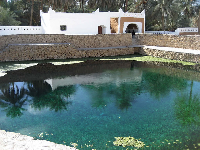 Pool at Ghadames
