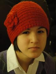 wool, clothing, red, head, knitting, beanie, hat, cap, knit cap, headgear,