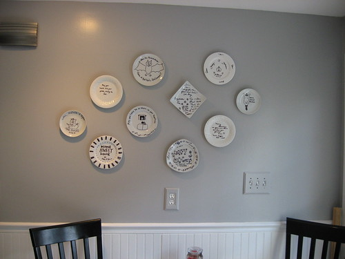Kitchen Wall Decor With Plates : How to hang plates on the wall ? decor adventures