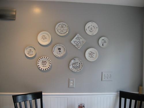 Wall Decor Plates Hang Wall : How to hang plates on the wall ? decor adventures