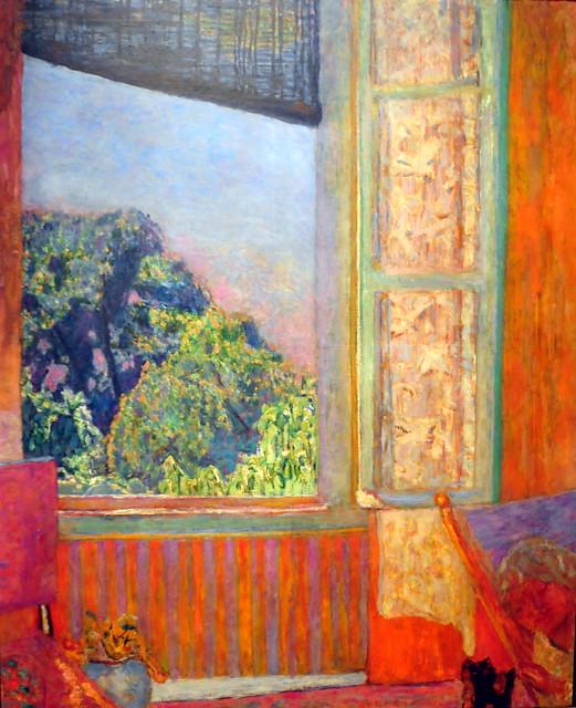 Pierre bonnard the open window at phillips collection for Pierre bonnard la fenetre ouverte