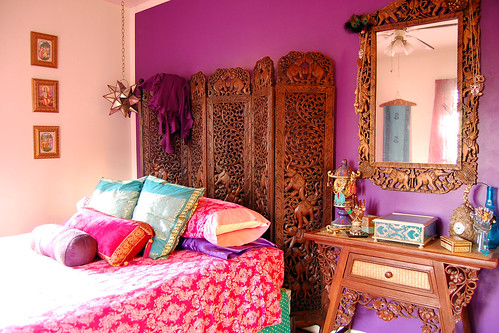 What i wore 2day the set india room for Indian themed bedroom