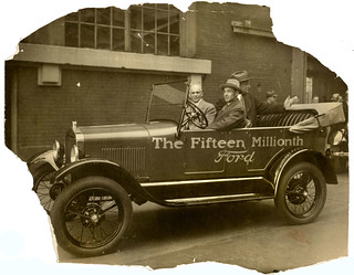 The Fifteen Millionth Ford 1927