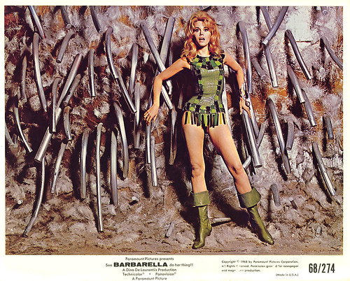 1968 ... Jane Fonda is 'Barbarella'