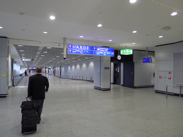 Frankfurt Flughafen Arrivals