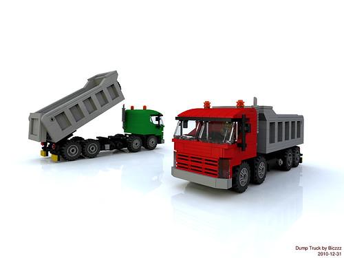 Dump Truck - rendering