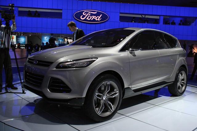 2011 Detroit: Ford Vertrek Concept