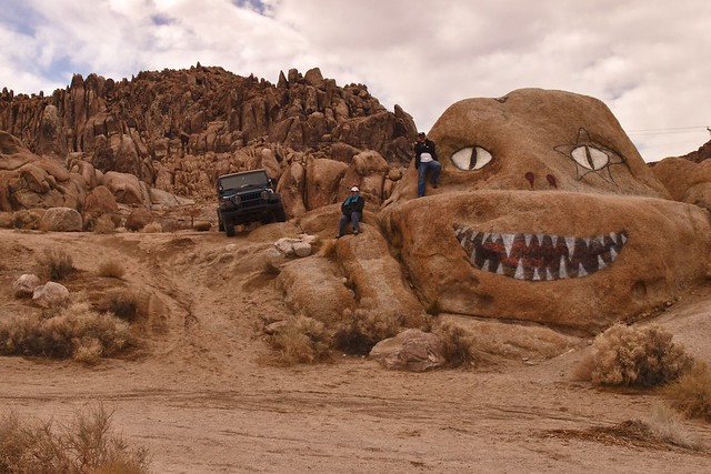 Lone Pine, CA, Alabama Hills, The Invisible Man (Brenda)