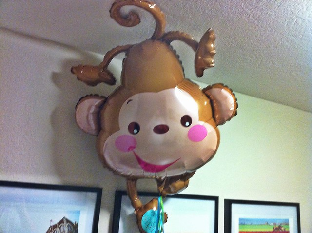 Monkey balloon flickr photo sharing - Monkey balloons for baby shower ...