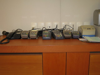 Multiple pos terminals in Rio airport