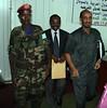 Sudan ambassador to Somalia (MID) and Somali defence minister by Ismail Warsameh