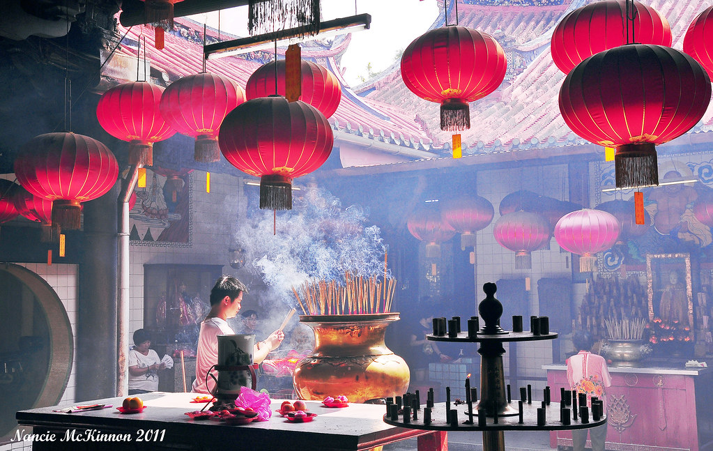 Kuan Yin Temple, Georgetown, Penang, Malaysia