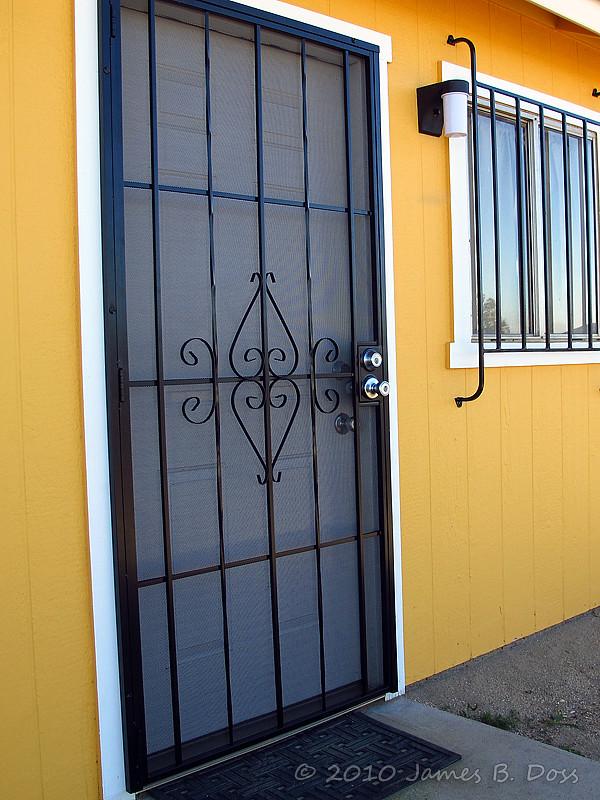 Home security door bar for Home security doors