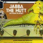 "KENNER :: Star Wars - Return of the Jedi  ""JABBA THE HUTT"" ACTION PLAYSET iii (( 1983 ))"
