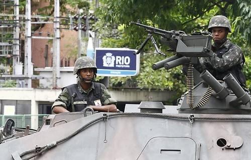 WAR IN RIO