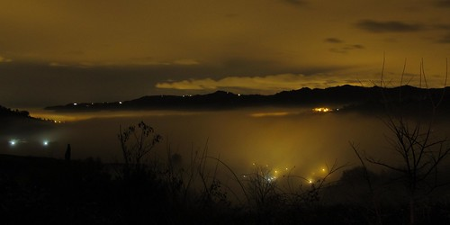 landscape luci nebbia notte casamia casalbono