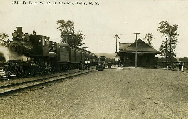 DL&W Station, Tully, NY