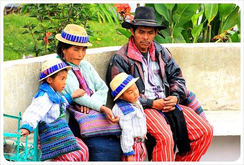 Todos Santos Mayan Family