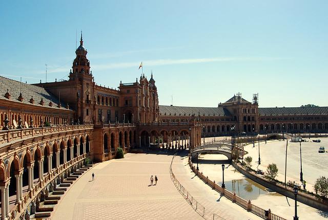 Plaza de España Sevilla Panoramica