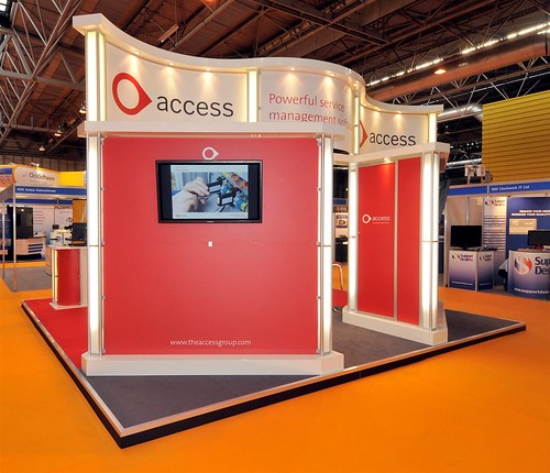 The Access stand at SME 2010