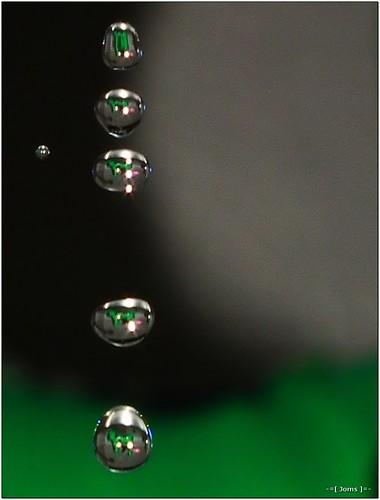 macro water bokeh refraction hs10 hs11 pnsers