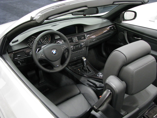 2011 bmw 328i convertible view of interior flickr photo sharing