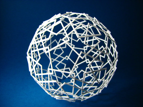 Following the edges of the icosidodecahedron