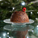 Chocolate Christmas pudding