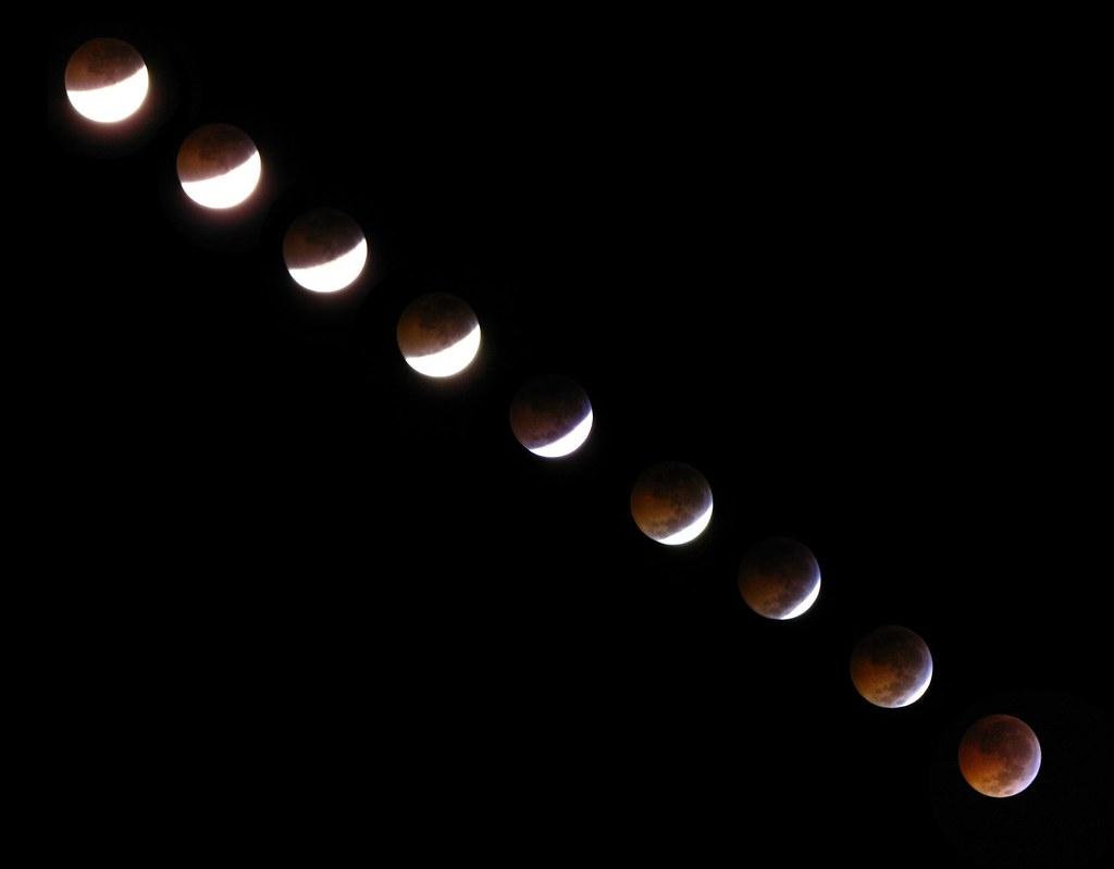 fases de un eclipse