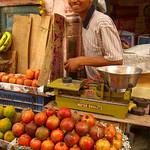 Pomegranate and Fruit Stand - Bikaner, India