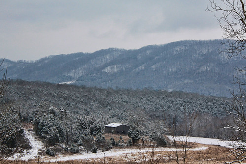 trees winter snow barn virginia ridge leecounty wallensridge
