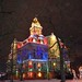 Christmas illumination - Licking County, Ohio, courthouse by patentboy