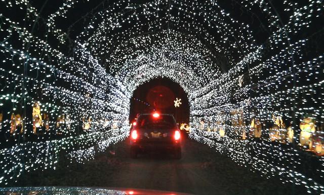 christmas light tunnel perth
