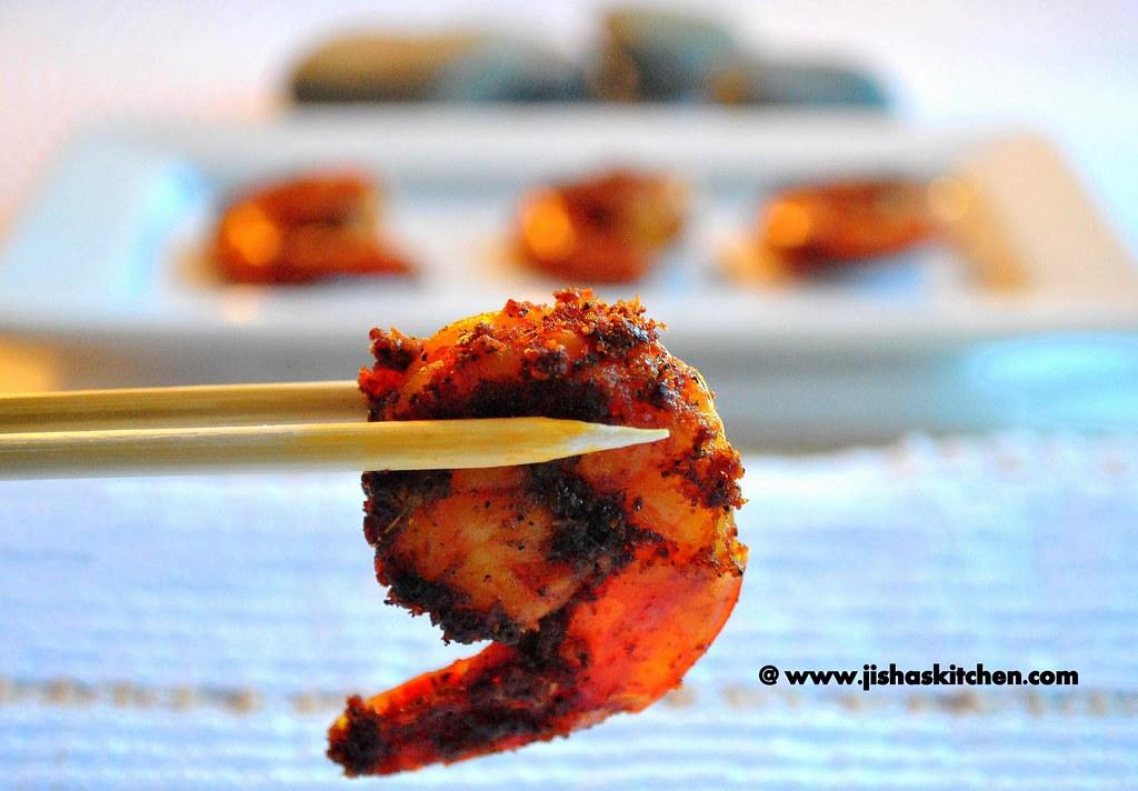 Prawn fry / Shrimp Fry - Indian Food Recipe / Kerala food