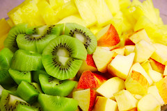 fruit, food, dish, ananas,